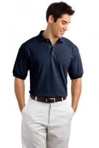 Gildan® Ultra Cotton® - 6.5-Ounce Pique Knit Golf Shirt - 3800 - Product Image