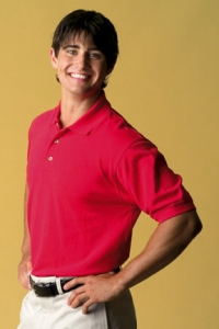 VANTAGE&#174 EASY-CARE BLENDED POLO SHIRT - 2200 - Product Image