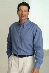 1215 EASY-CARE FRENCH TWILL SHIRT - Product Image