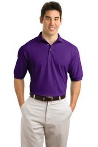 Hanes® Stedman® - 7-Ounce Pique Knit Golf Shirt - 055X - Product Image