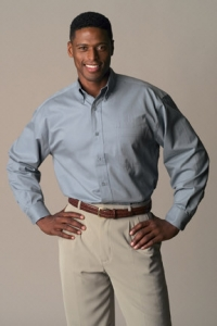 1825 PIMA COTTON TWILL SHIRT - Product Image